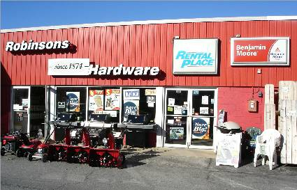 Robinsons Hardware, 31 Washington St Hudson MA 01749