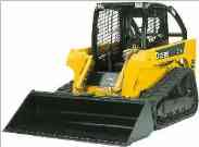 We rent track loaders aka bobcats