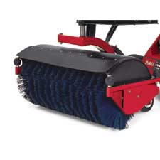 Robinsons Rents the Toro Dingo with a power broom attachment