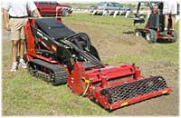 Robinsons Rents the Rotodarian Soil Cultivator and the Toro Dingo