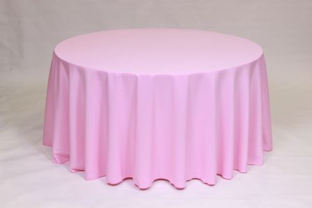Pink Table Cloth : Tablecloth rentals- Hudson, MA and Framingham, MA
