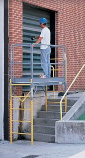 We rent scaffolding