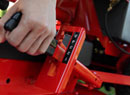 Snapper Rear Engine Riding Mowers feature easy to adjust height control