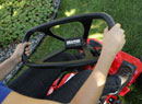 Snapper Rear Engine Riding Mowers feature easy to use steering controls