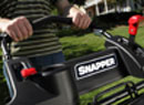 The Snapper Hivac Series Lawn Mowers features Easy to Use Controls