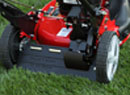 The Snapper HIVAC Series Lawn Mowers features rear wheel drive propel for better traction